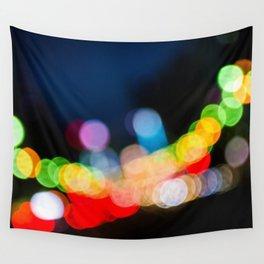 Streetlight Bokeh Wall Tapestry
