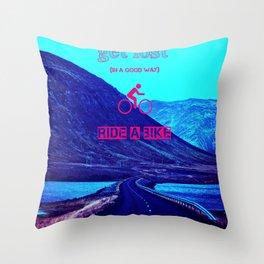 Get Lost (Aquatic Road Version) Throw Pillow