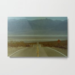 Like Most Roads Metal Print