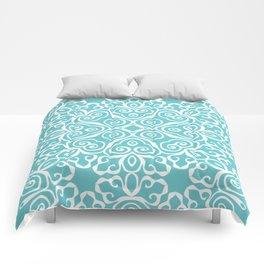 Winter's Spring Dance Print Comforters