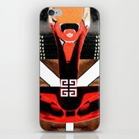 givenchy iPhone & iPod Skins featuring Givenchy panel with masai print by Le' + WK$amahoodT Boutique by Paynasa®