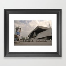 BMW Headquaters Framed Art Print