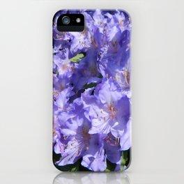 Indigo Azaleas iPhone Case