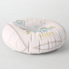 Pisces Zodiac sign Floor Pillow