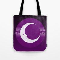 luna Tote Bags featuring Luna by tuditees