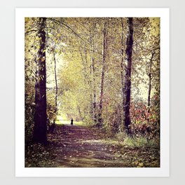 Story Book Forest Art Print
