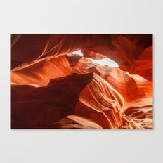 Antelope Canyon, Howling Wolf Canvas Print