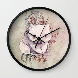 Wombat! Wall Clock