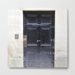 Doors Oxford 6 Metal Print