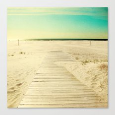 Sun and Sand Canvas Print