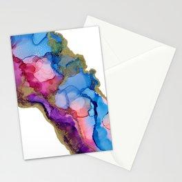 Golden River Flow Stationery Cards
