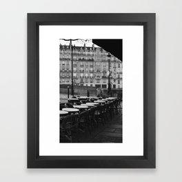 Cafe Tableau Framed Art Print