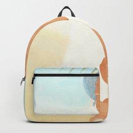 Under a Beach Palm Backpack