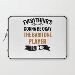 Vintage Baritone Gifts   Baritone Players Gifts Laptop Sleeve