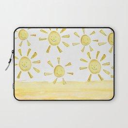 happy sunshine Laptop Sleeve