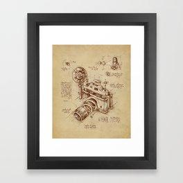 Moment Catcher Framed Art Print