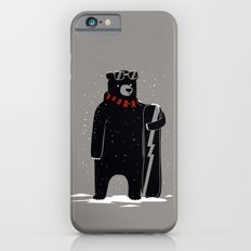 Bear on snowboard iPhone 6s Slim Case