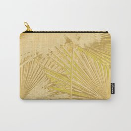 Arecales Palmae Gold Carry-All Pouch
