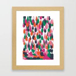 raining love Framed Art Print