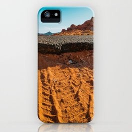 Beginning of the Road iPhone Case