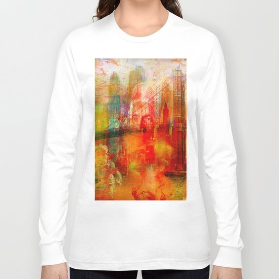 Memory of a dream of childhood Long Sleeve T-shirt