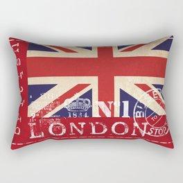 Union Jack Great Britain Flag Rectangular Pillow