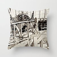 aviation Throw Pillows featuring Aviation Science by Simmons Universe