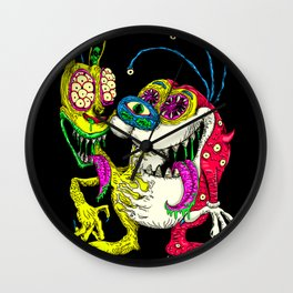Monster Friends Wall Clock