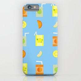 Juice Pattern iPhone Case
