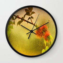 Robin's Pincushion Wall Clock