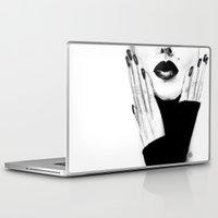 grace Laptop & iPad Skins featuring Grace by Lauren Draghetti