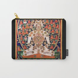 Buddhist Body Mandala Chakra  Carry-All Pouch