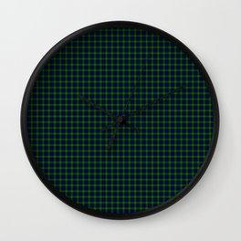 Gordon Tartan Wall Clock