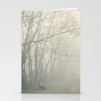 fog Stationery Cards featuring Fog by Laura Ruth