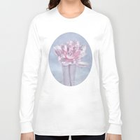 peony Long Sleeve T-shirts featuring PEONY by INA FineArt