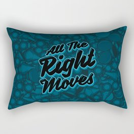 All The Right Chess Moves Rectangular Pillow