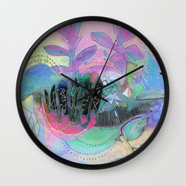 Freedom Within Wall Clock