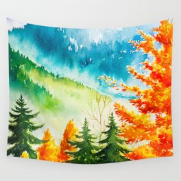 Autumn scenery #6 Wall Tapestry