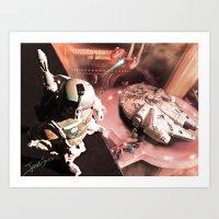 Art Print featuring The Man Trap by jcalum2012