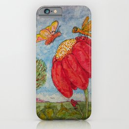 Saving a Seat In Heaven For You iPhone Case