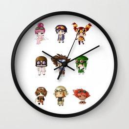 Chibi Goggles Wall Clock