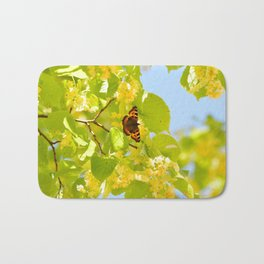 Blinding Butterfly Bath Mat