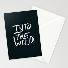 Into the Wild x BW Stationery Cards