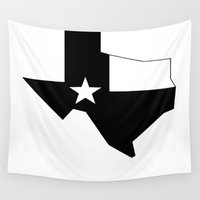 texas Wall Tapestries featuring TEXAS by Fool design