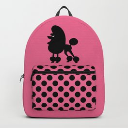Angry Animals - French Poodle Backpack