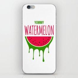 Yummy Watermelon iPhone Skin