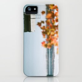 lake side view  iPhone Case