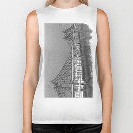 Albert Bridge London Digital Art Biker Tank