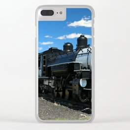 Cumbres And Toltec Steam Engine Clear iPhone Case