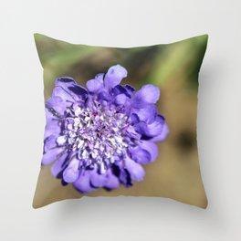 Dead Centered Throw Pillow
